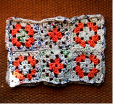 Plarn Doormat